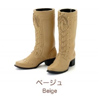 "Petworks CCS Shoes Mid-Calf Lace-Up Boots Beige fit Momoko & Ruruko ""PRE-ORDER"""