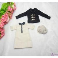 Sekiguchi Momoko Fashion Outfit Wool Casquette Cap ,Duffle Coat, One Piece Dress MDS-06