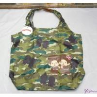 Sekiguchi Monchhichi Eco Bag - 42x36cm MCC EcoBag HandBag Camouflage (1 piece) 20023