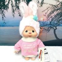 Monchhichi Warm Knit 34cm M Size Chimutan Bunny 200658