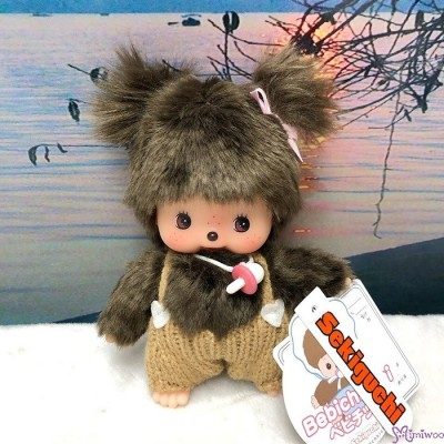 Sekiguchi Bebichhichi Plush Doll Warm Knit Girl 200689