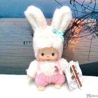 Sekiguchi Bebichhichi Plush Doll Warm Knit Chimutan Bunny 200696