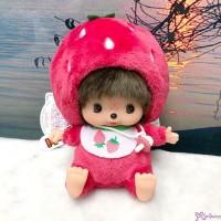 Monchhichi Bebichhichi Bean Bag Sitting Plush Strawberry 201198
