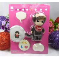 Mame Momoko x Monchhichi MCC Mini Figure 10cm Doll 215000