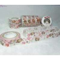 Monchhichi 40th Anniversary Masking Tape Checkmate ~ MADE in JAPAN ~ 203600