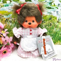 Monchhichi S Size Plush Cafe Waitress Girl 220427  NEW ARRIVAL