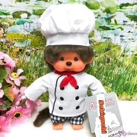 Monchhichi S Size Plush Cooking Chef Boy 220441 NEW ARRIVAL