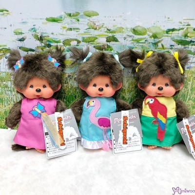 Monchhichi S Size Plush Parrot Fashion Girl 220496