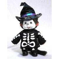 Monchhichi S Size 22cm Plush Halloween Skeleton MCC 220720
