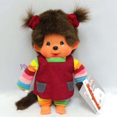 Sekiguchi Monchhichi S MCC Rainbow Tee Blue Overall Boy & Girl 220850+220860