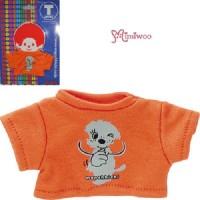 Monchhichi S Size Fashion Outfit T- Shirt Tee Orange 222130
