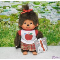 Monchhichi 2010 Dressed - Apple Tee Checker Skirt Girl 222620