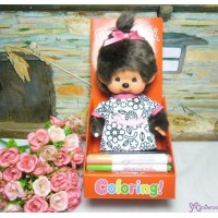 Monchhichi Coloring Tee S Size Plush Draw your own MCC Dress 223329