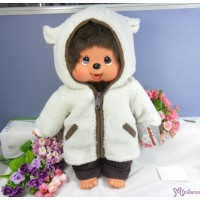 Monchhichi Dressed MCC L Size 45cm Sheep Coat Girl 223480