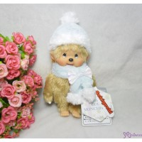 Monchhichi 40th Anniversary MCC Winter Gold Hair Boy 226250