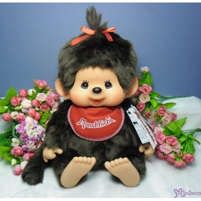 Monchhichi L Size Super Soft Head Premium Sitting Girl 226658