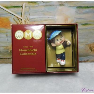 Micro Monchhichi Collectible 6cm Plastic Figure Sport - Golf 229956-3