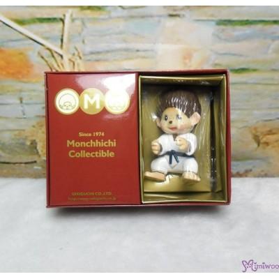 Micro Monchhichi Collectible 6cm Plastic Figure Sport - Judo 229956-4
