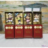 Micro Monchhichi Collectible 6cm Plastic Figure Sport - Teniis , Rugby, Golf, Judo 229956-1234