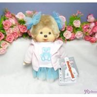 Monchhichi S Size Dream MCC Blue Bear Tee Girl 231232
