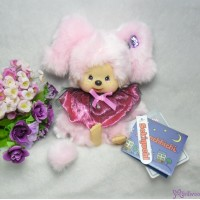 Monchhichi Mischief S Size Halloween MCC Plush Pinky Girl 231584