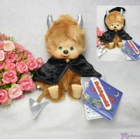 Monchhichi Mischief S Size Halloween MCC Plush Brownie Boy 231607
