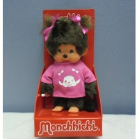 Europe Limited Version Fashion Monchhichi S Size Pink MCC Tee Girl 232000
