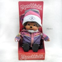 Monchhichi S Size Winter Sports Boarder MCC Girl 232580