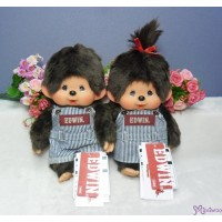 Edwin x Monchhichi Ver. 2 Limited M Size Overall Jeans BOY & GIRL 232574+232581