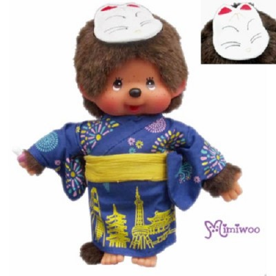Monchhichi Summer Yukata de World S Size Boy Plush 232730