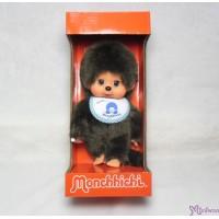 Monchhichi 20cm Move Eyes with Blue Sleep Bib Boy 233050