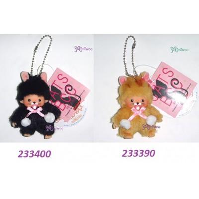 Bebichhichi Mascot Keychain BBCC Plush Key Chain Cat Black 233400