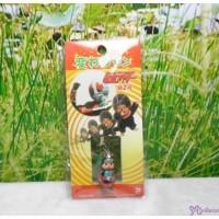 Monchhichi 3cm Mini Plastic Mascot Phone Strap Ultraman No.2 #233510