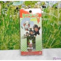 Monchhichi 3cm Mini Plastic Mascot Phone Strap Ultraman V3 #233520