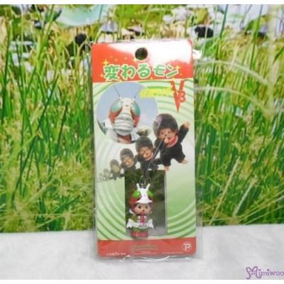 Monchhichi 3cm Mini Plastic Mascot Phone Strap Ultraman & Monster Set #233510+520+620