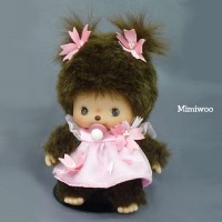 Bebichhichi Monchhichi Baby BBCC Sakura Girl 234110