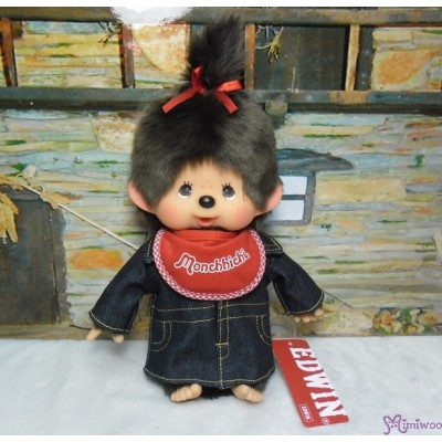 Edwin x Monchhichi Ver. 3 Limited M Size Overall Jeans BOY & GIRL 234141+234158