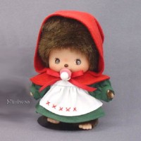 Monchhichi Baby Bebichhichi Fairy Tale Red Cape Girl 234210