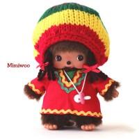 Bebichhichi Monchhichi Baby Plush BBCC Jamaica Girl 234310