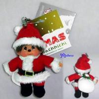 Monchhichi 10cm X'Mas Mascot Christmas Santa 234510