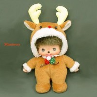 Bebichhichi S Size Plush BBCC Christmas Reindeer 234530