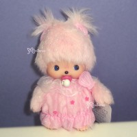Bebichhichi Plush Lace Dress Doll BBCC Shell Pink 235580