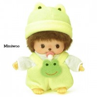 Bebichhichi S Size Monchhichi Baby BBCC Romper Yellow Frog 235970