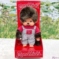 Monchhichi S Size 18cm Plush Stripe Overall Boy 236440