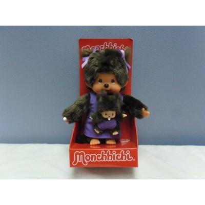 Monchhichi S Size Mother Care with Baby Bebichhichi Purple 236490
