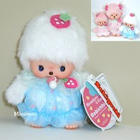 Bebichhichi Monchhichi Baby BBCC Strawberry & Heart Boy 237120