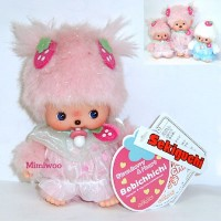 Bebichhichi Monchhichi Baby BBCC Strawberry & Heart Girl 237130