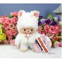 Bebichhichi 14cm Cat BBCC Kitten White 237200