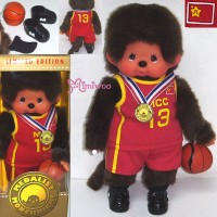 Monchhichi S Size Plush Medalist Basketball 238090