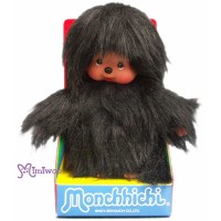 Monchhichi S Size Plush Mon Musu MCC Black 239390